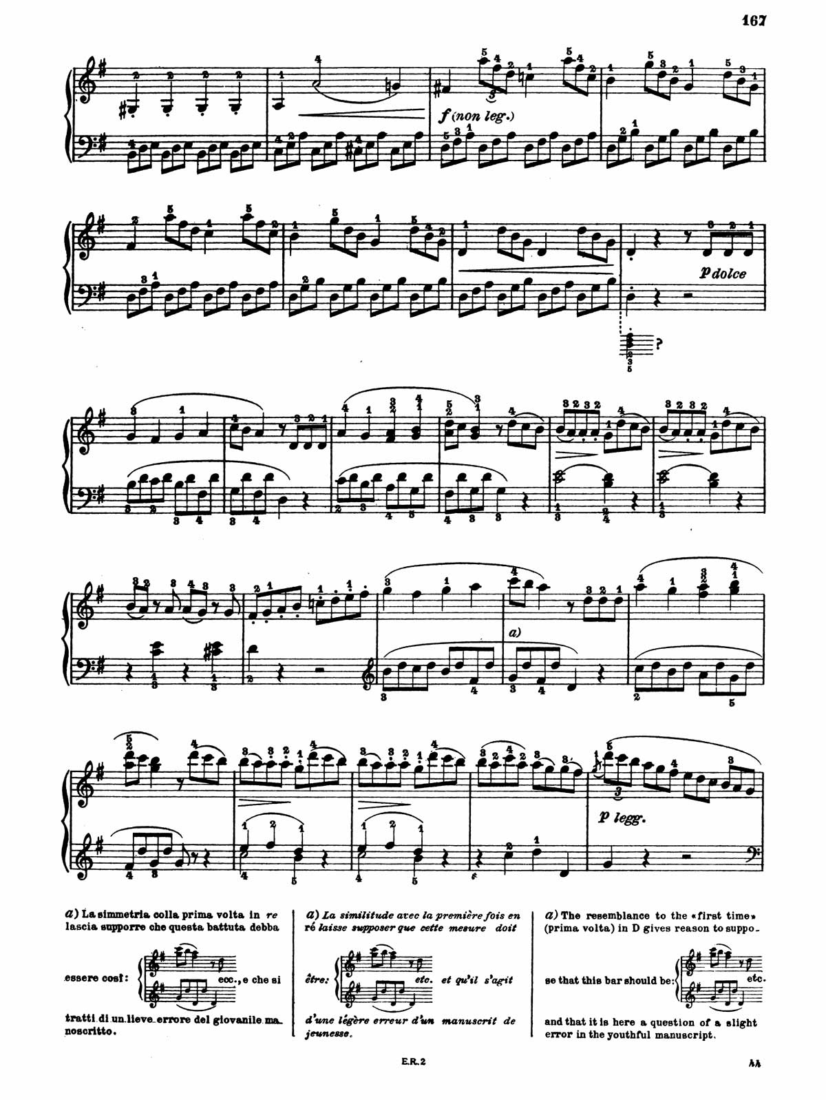 Beethoven Piano Sonata 20-4 sheet music