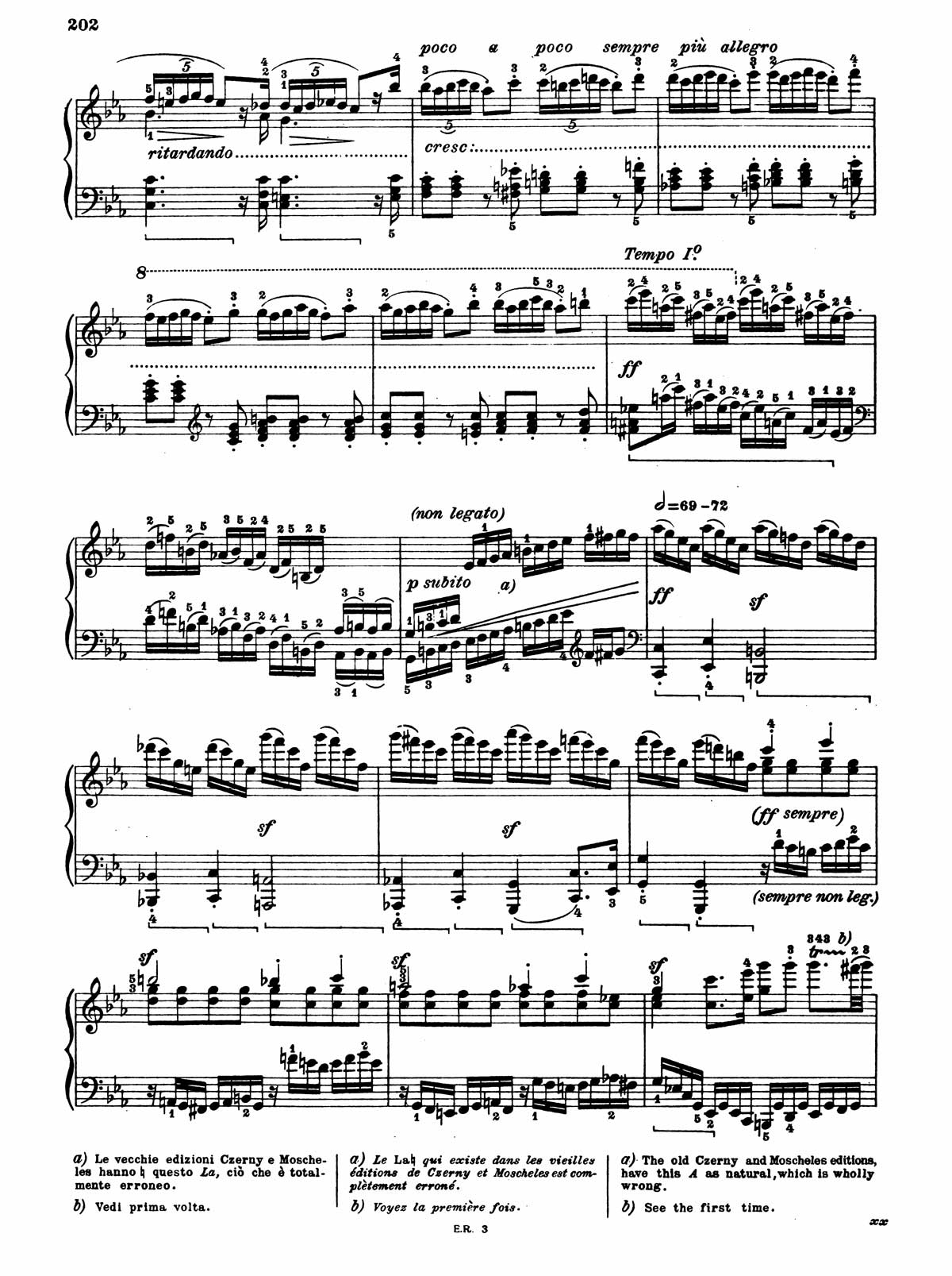 Beethoven Piano Sonata 32-10 sheet music
