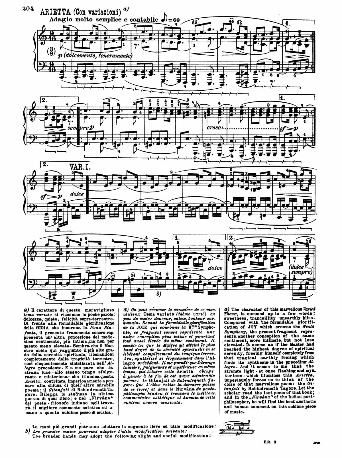 Beethoven Piano Sonata 32-12 sheet music