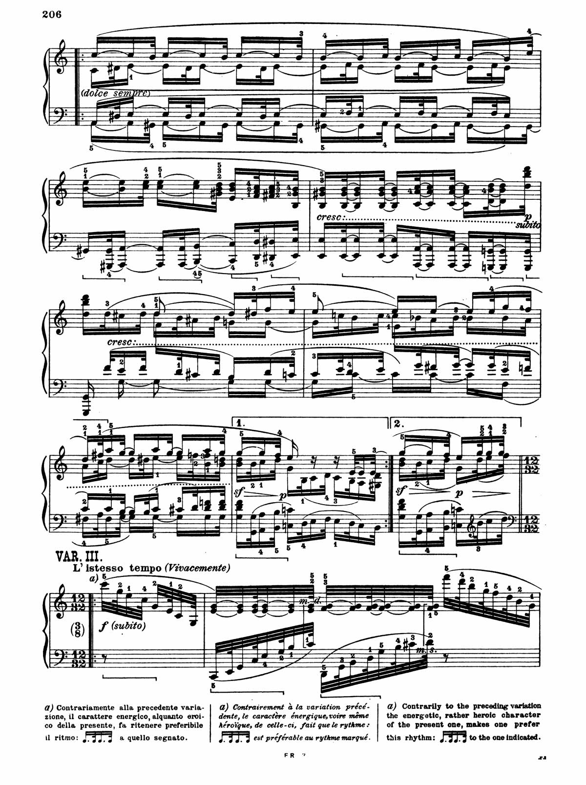 Beethoven Piano Sonata 32-14 sheet music