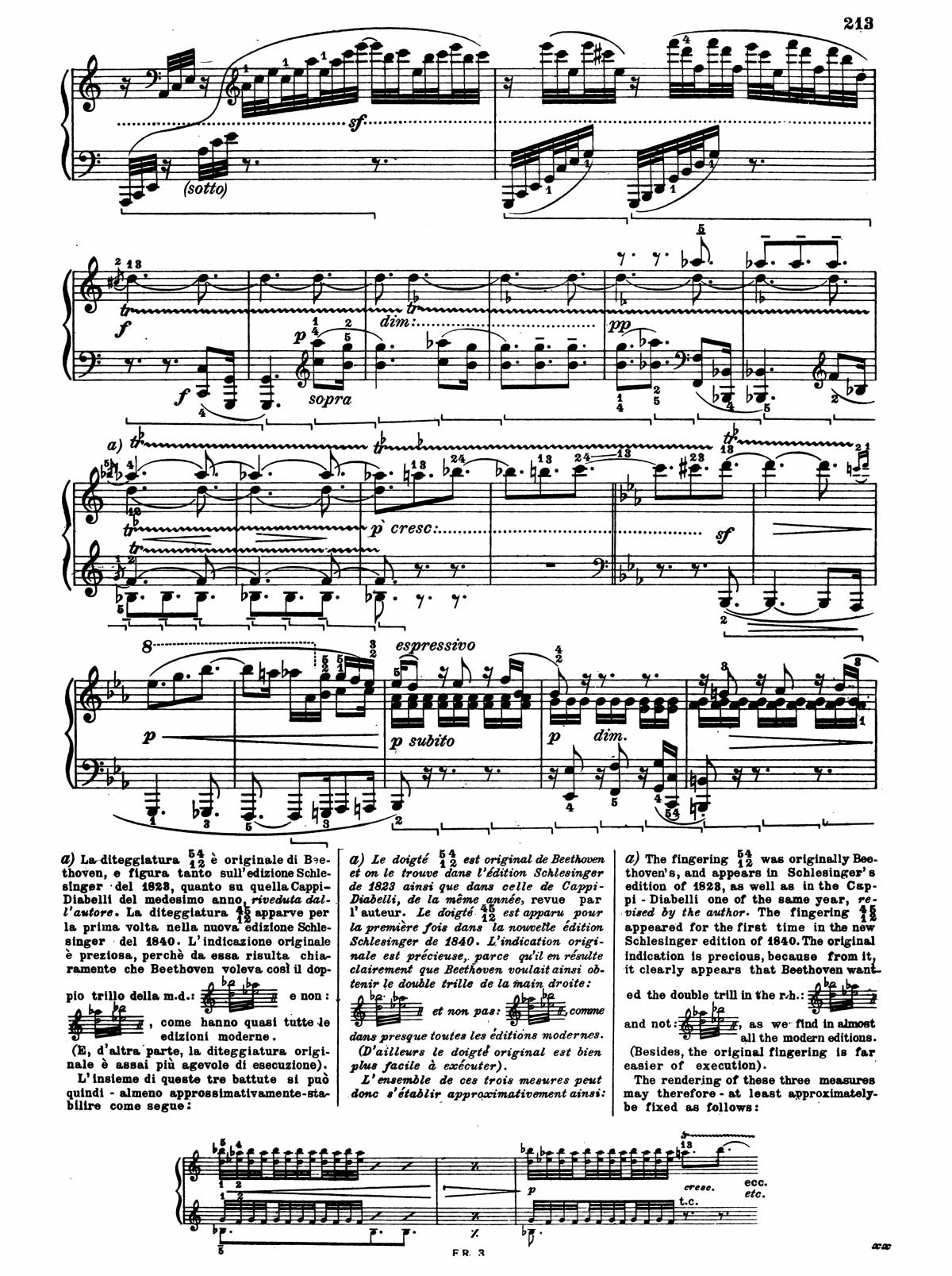 Beethoven Piano Sonata 32-21 sheet music