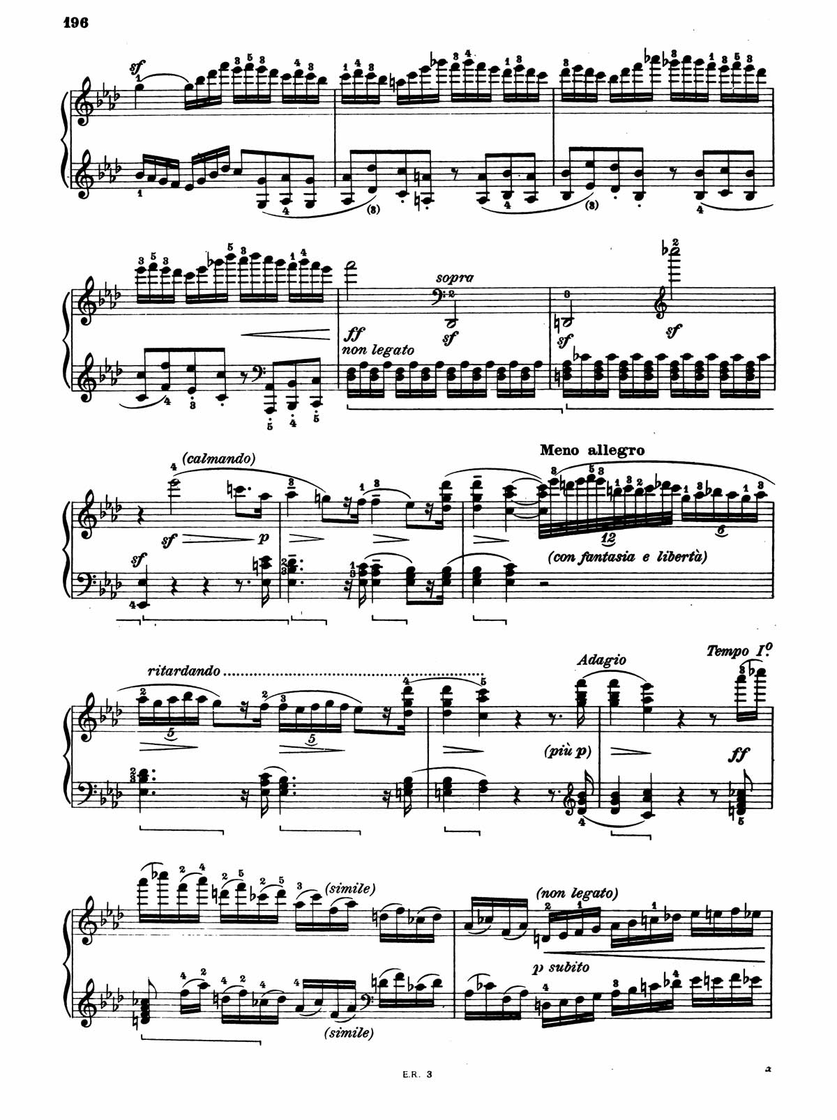 Beethoven Piano Sonata 32-4 sheet music