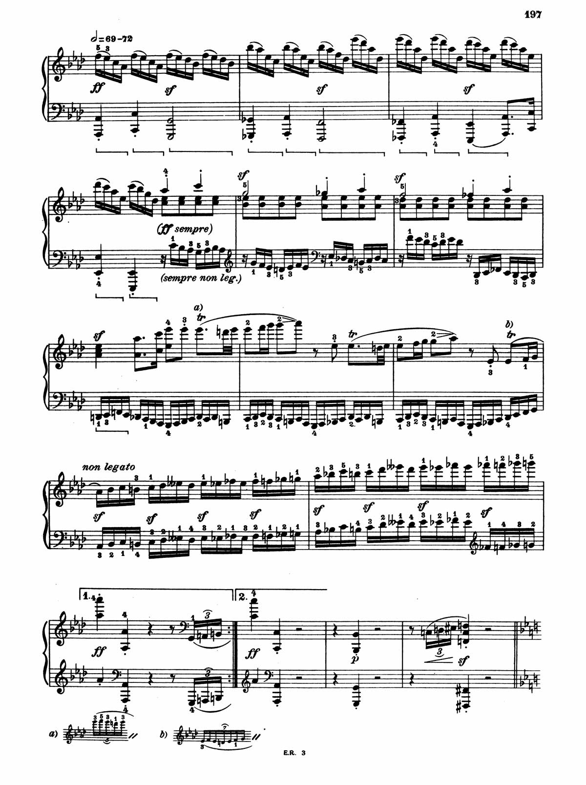 Beethoven Piano Sonata 32-5 sheet music