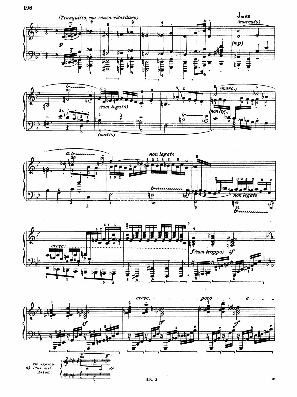 Beethoven Piano Sonata 32-6 sheet music