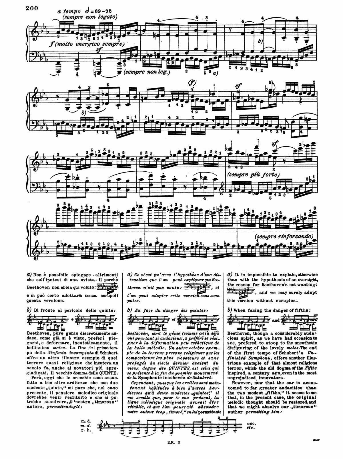 Beethoven Piano Sonata 32-8 sheet music