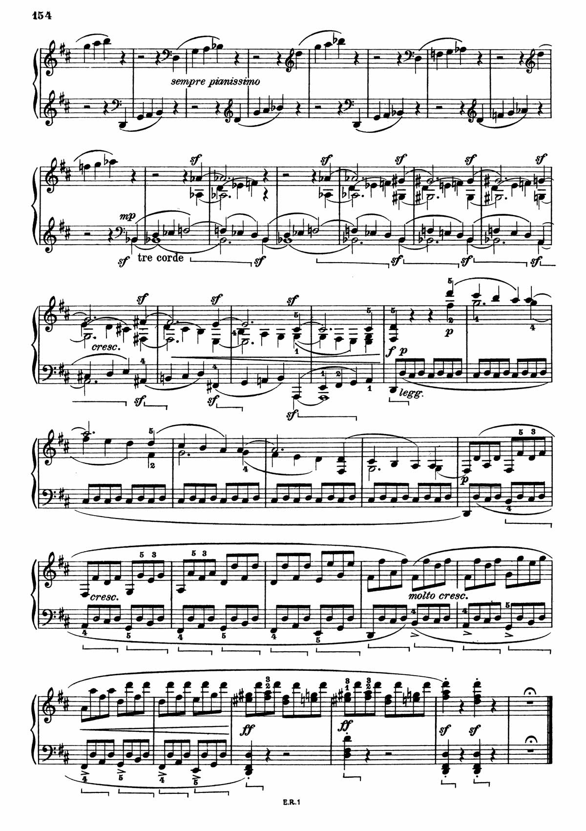 Beethoven Piano Sonata 7-10 sheet music