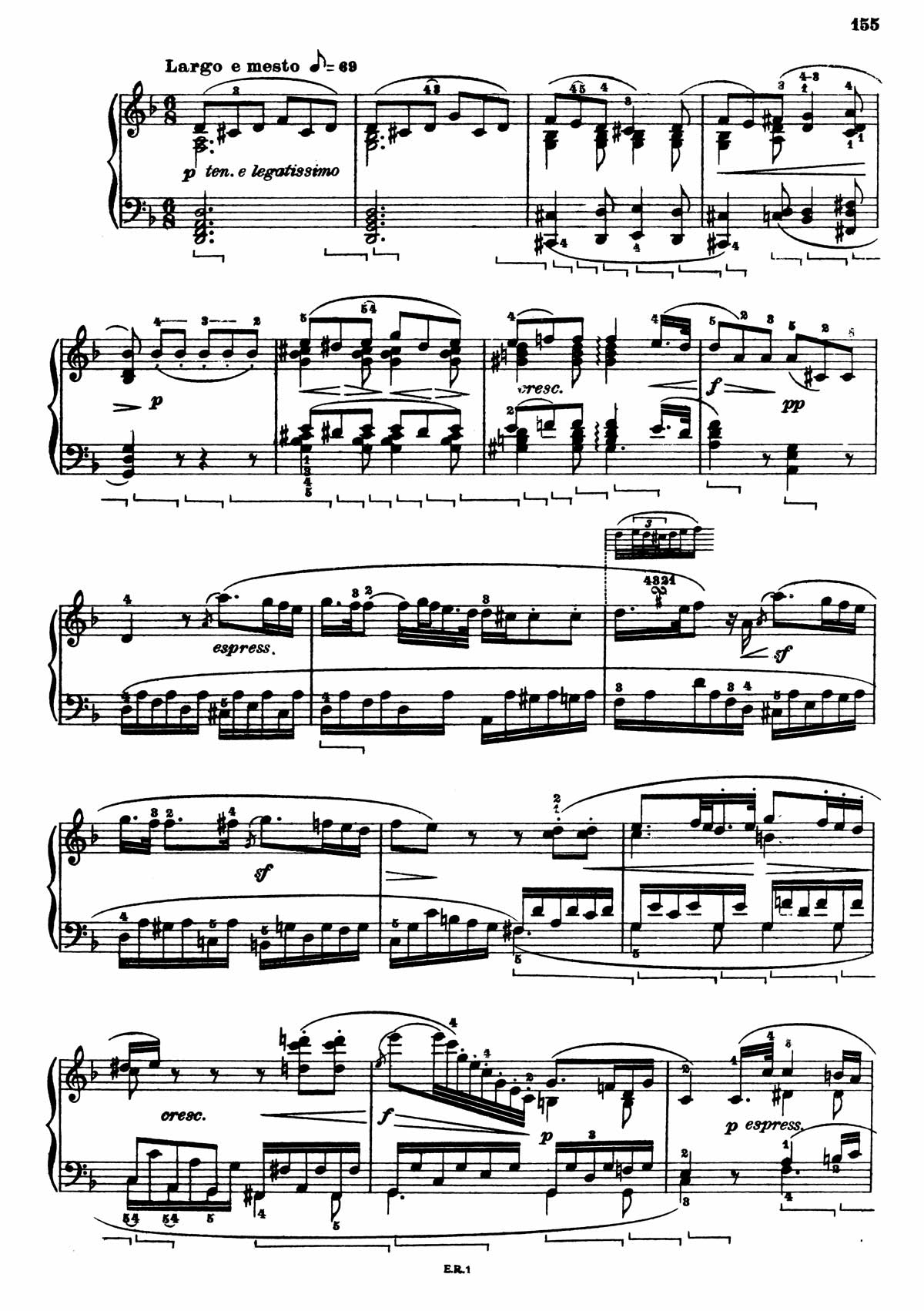 Beethoven Piano Sonata 7-11 sheet music