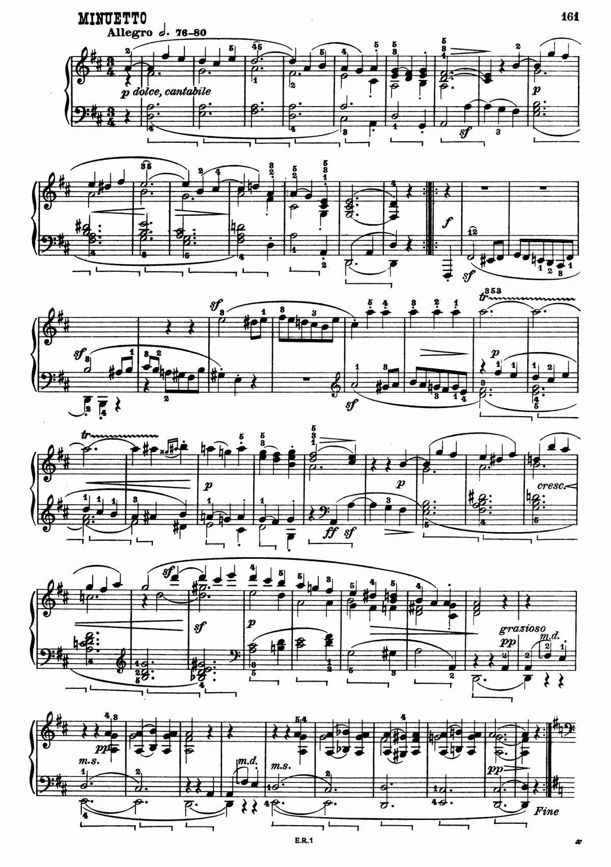 Beethoven Piano Sonata 7-17 sheet music
