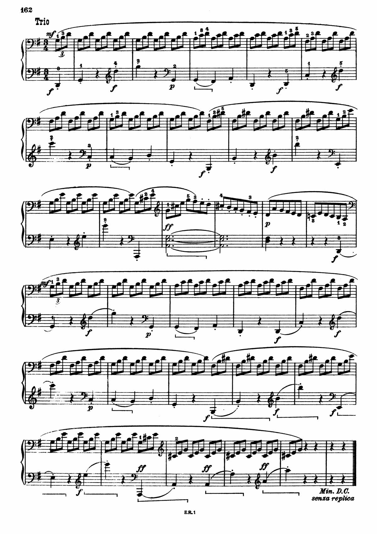 Beethoven Piano Sonata 7-18 sheet music