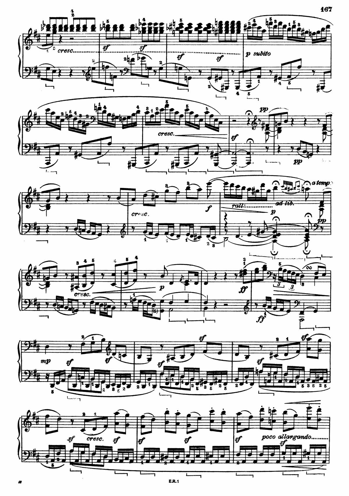 Beethoven Piano Sonata 7-23 sheet music