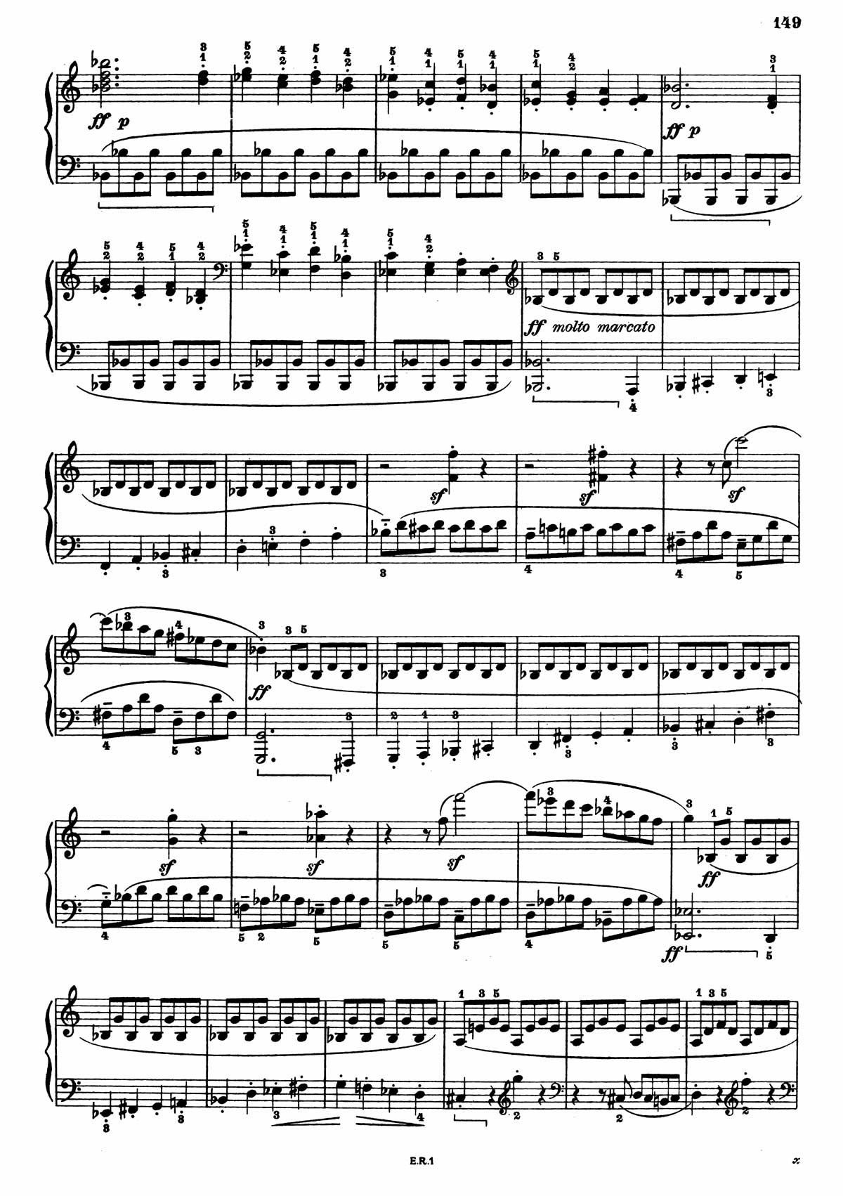 Beethoven Piano Sonata 7-5 sheet music