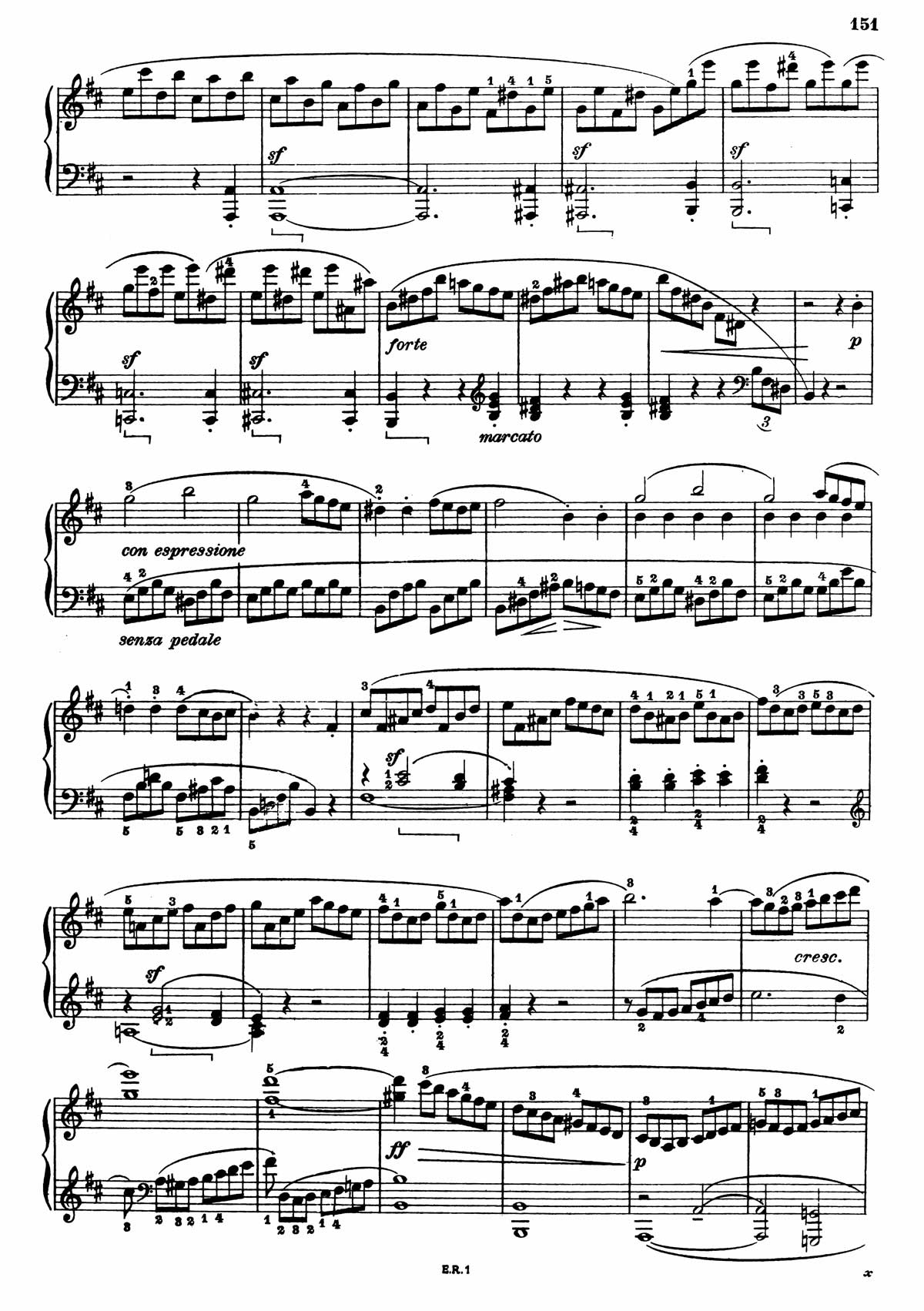 Beethoven Piano Sonata 7-7 sheet music