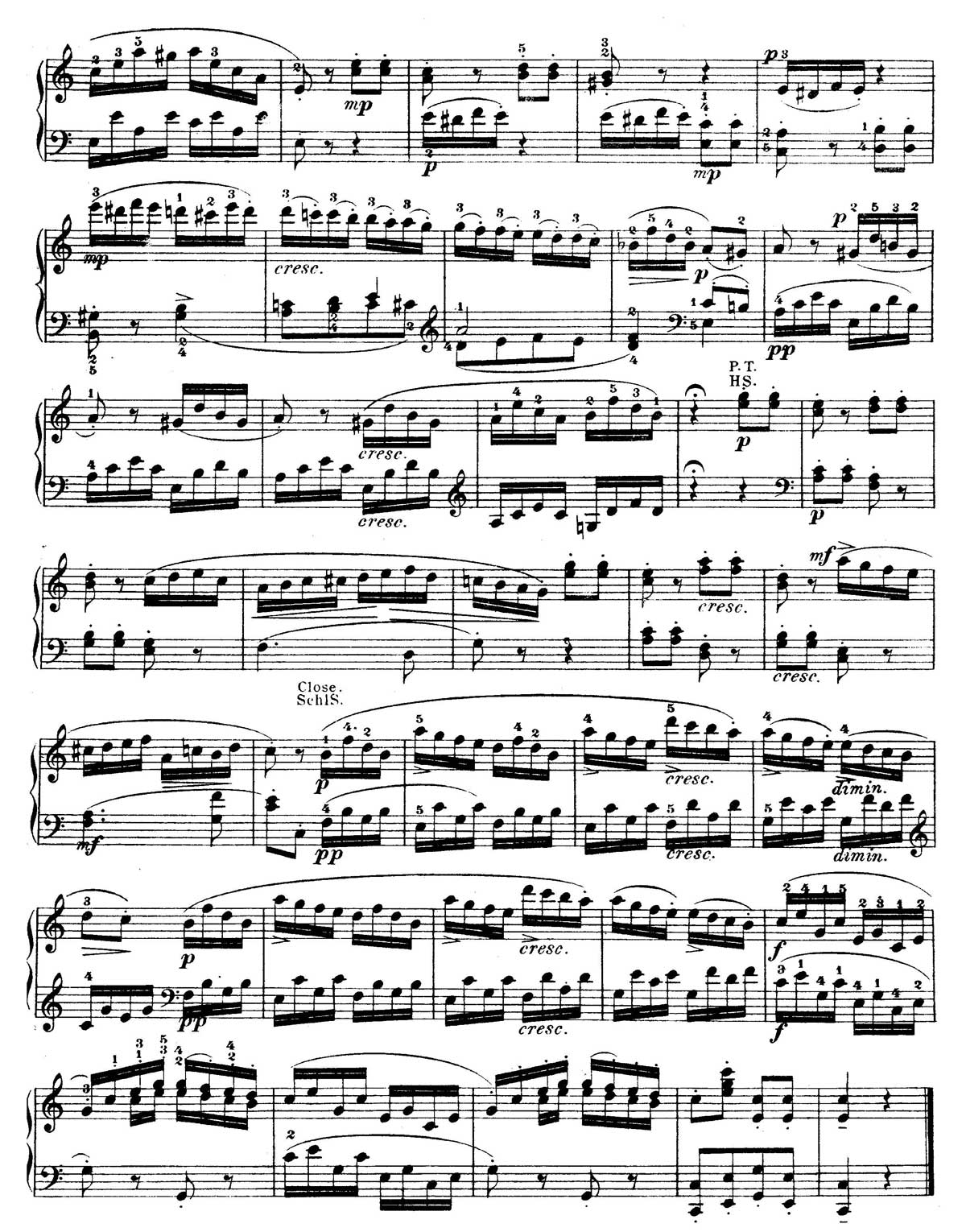 Mozart Piano Sonata 16-sheet music 11