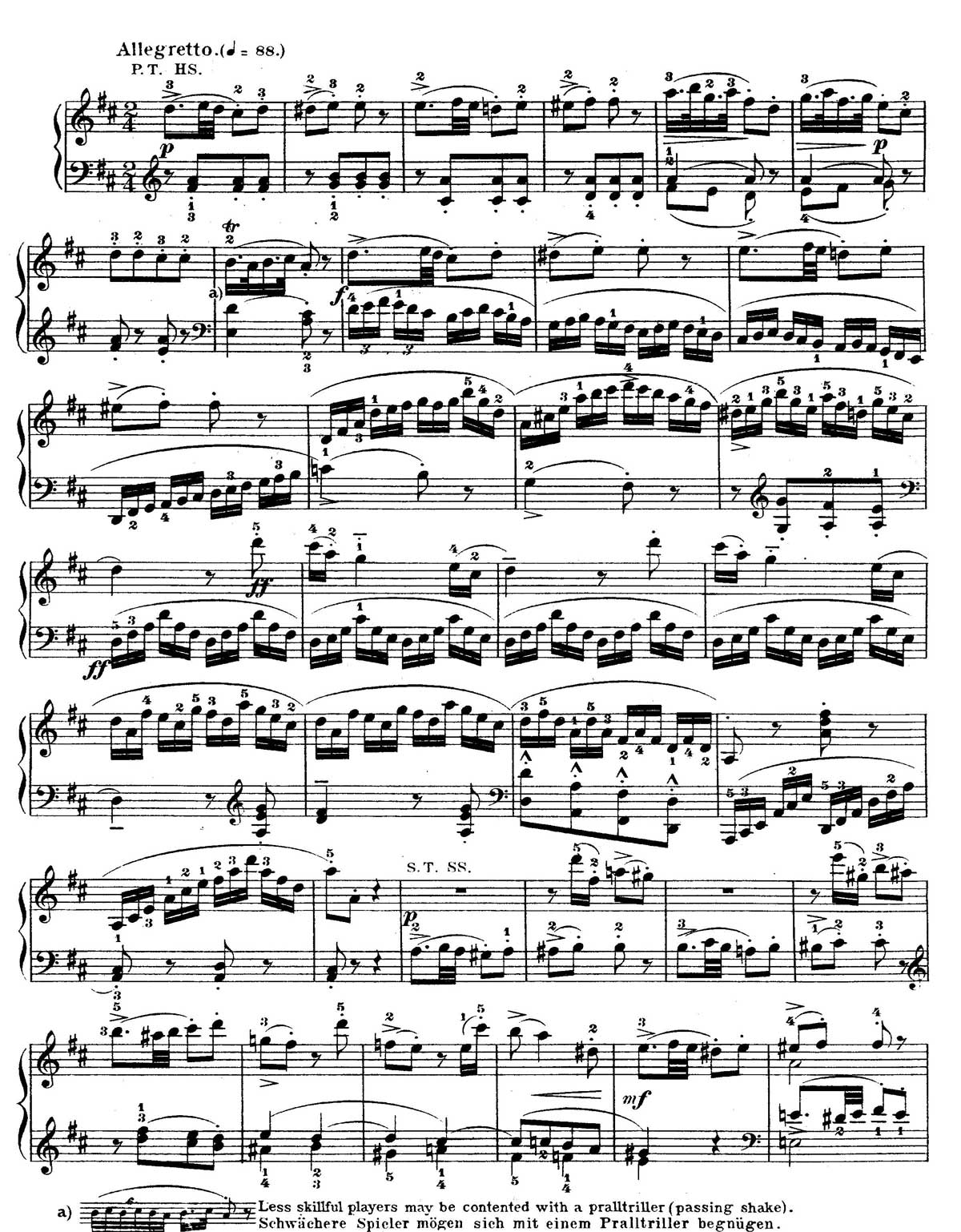 Mozart Piano Sonata 18-sheet music 11