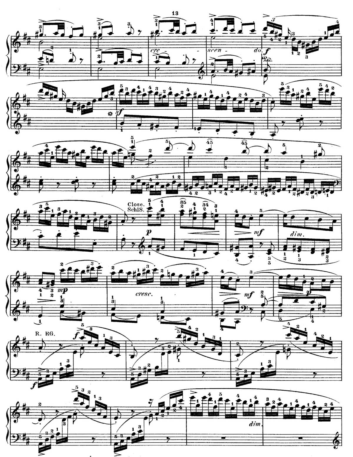 Mozart Piano Sonata 18-sheet music 12