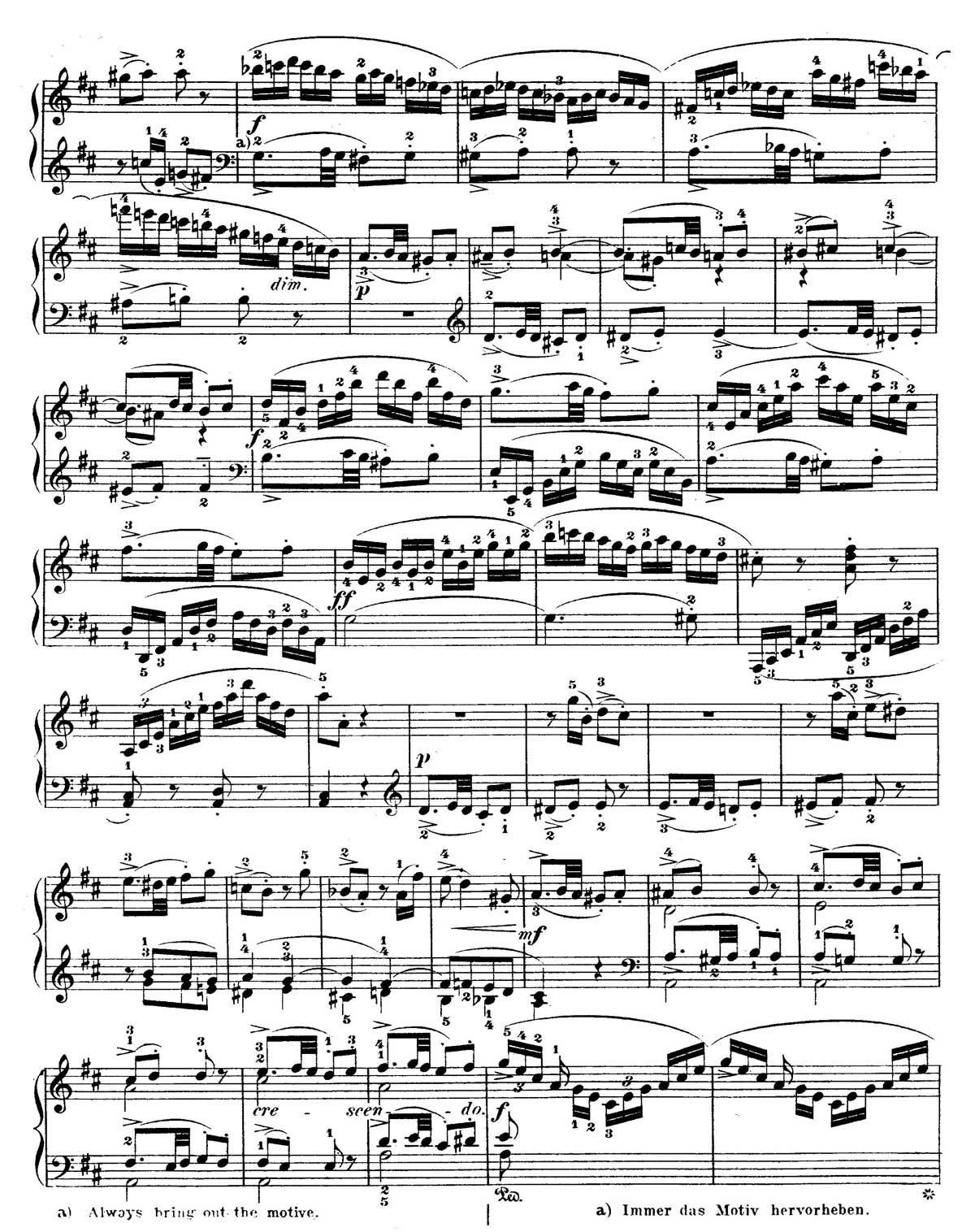 Mozart Piano Sonata 18-sheet music 14