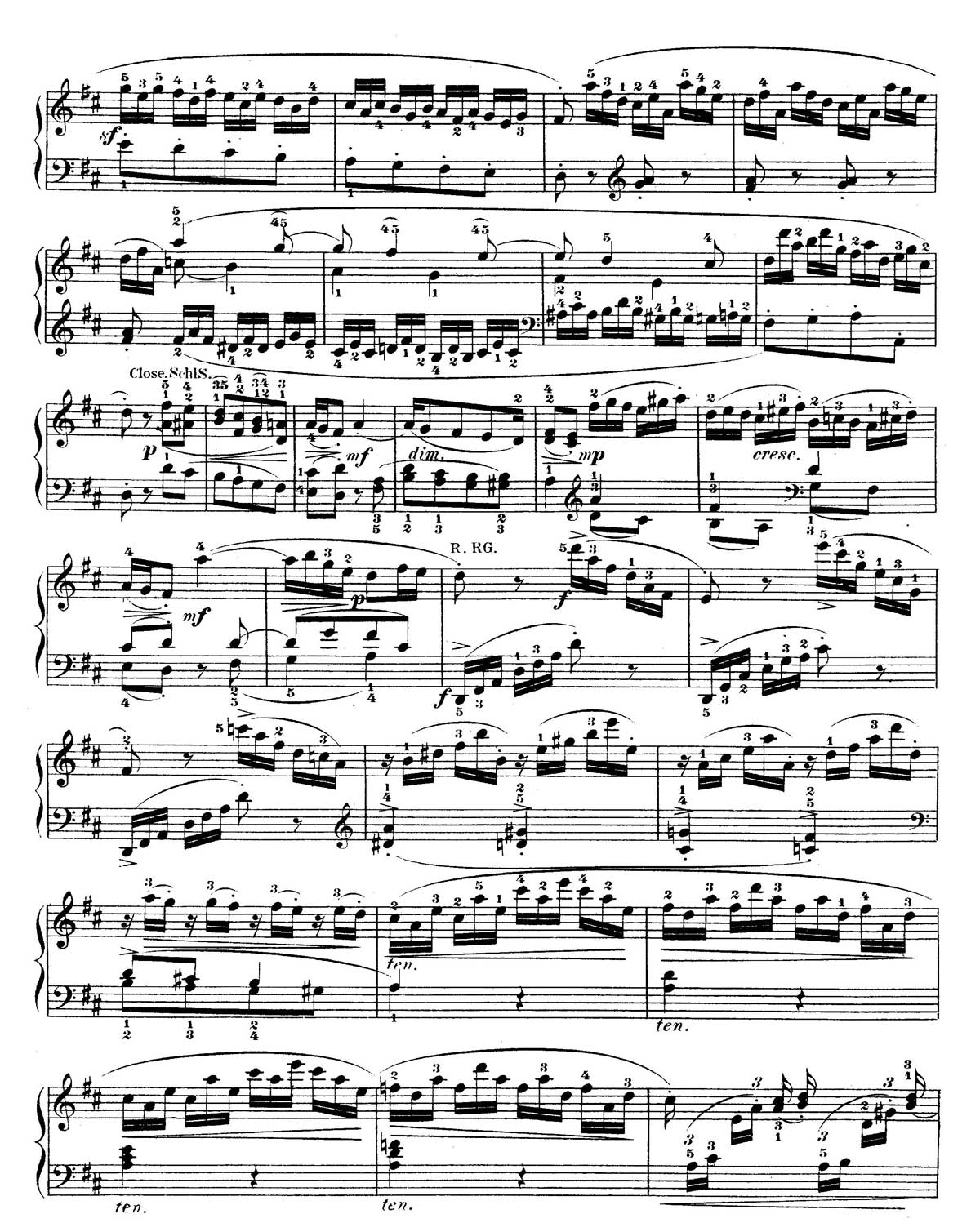 Mozart Piano Sonata 18-sheet music 15