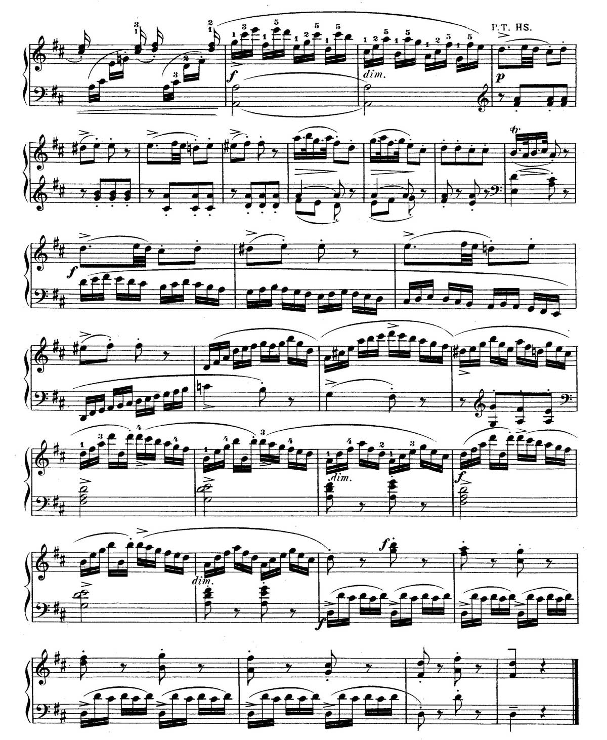 Mozart Piano Sonata 18-sheet music 16