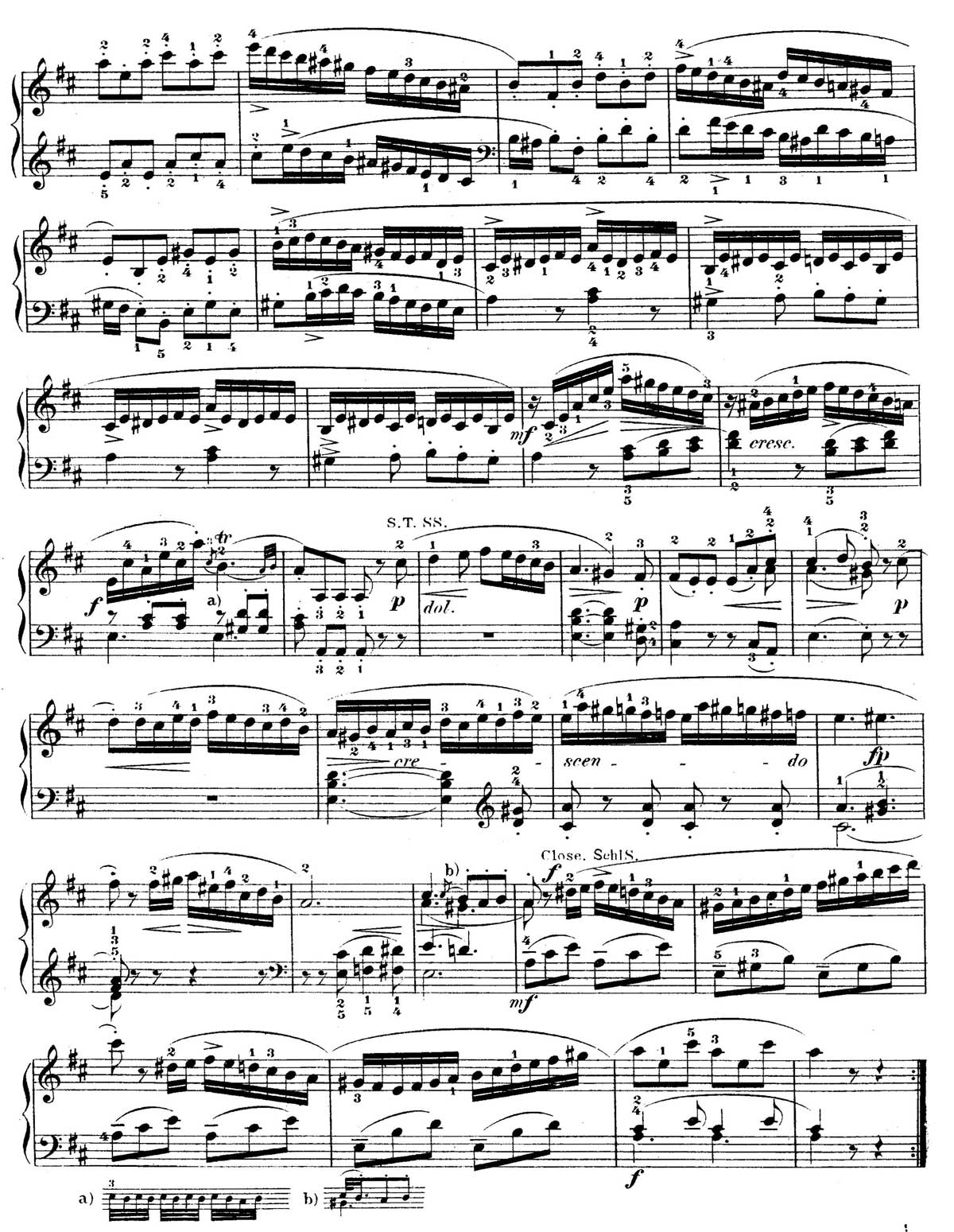 Mozart Piano Sonata 18-sheet music 2