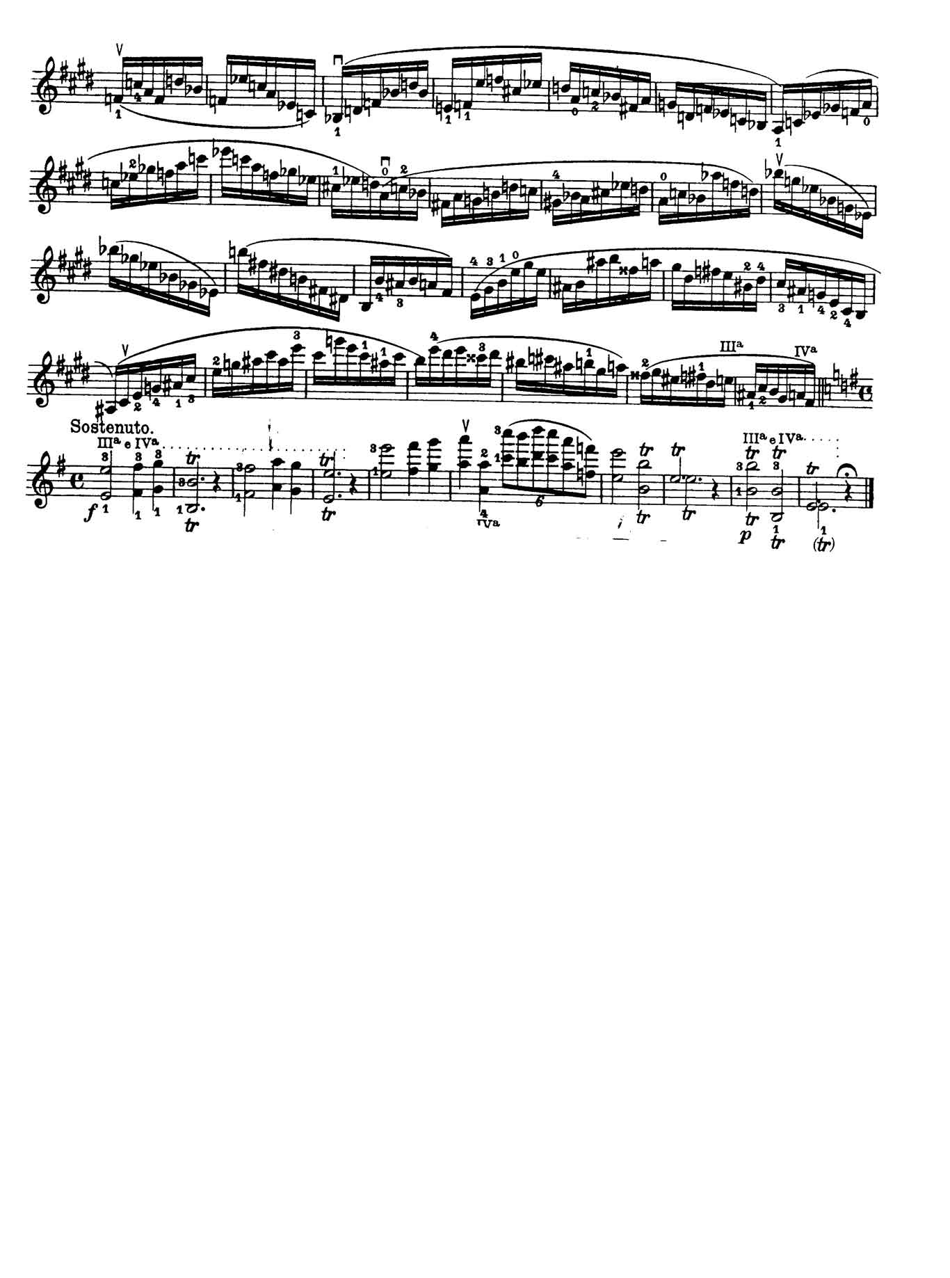 Paganini Violin Caprice 3-sheet music 2